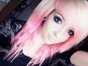 #girl #hair #pink #blonde #wavy