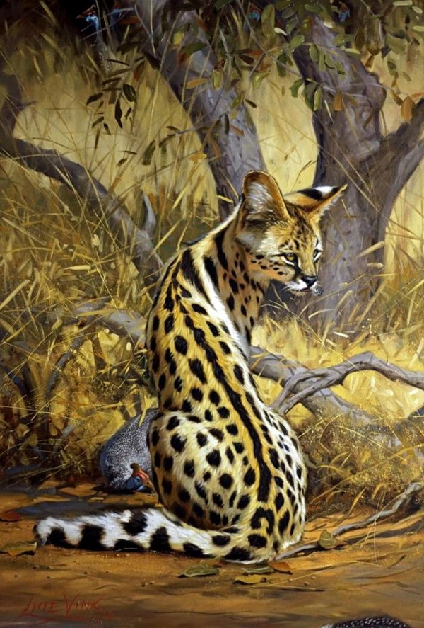 Lute Vink African Wildlife Art