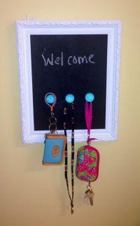 DIY key holder | Made by Hand | Pinterest | Keys, Pictures ...