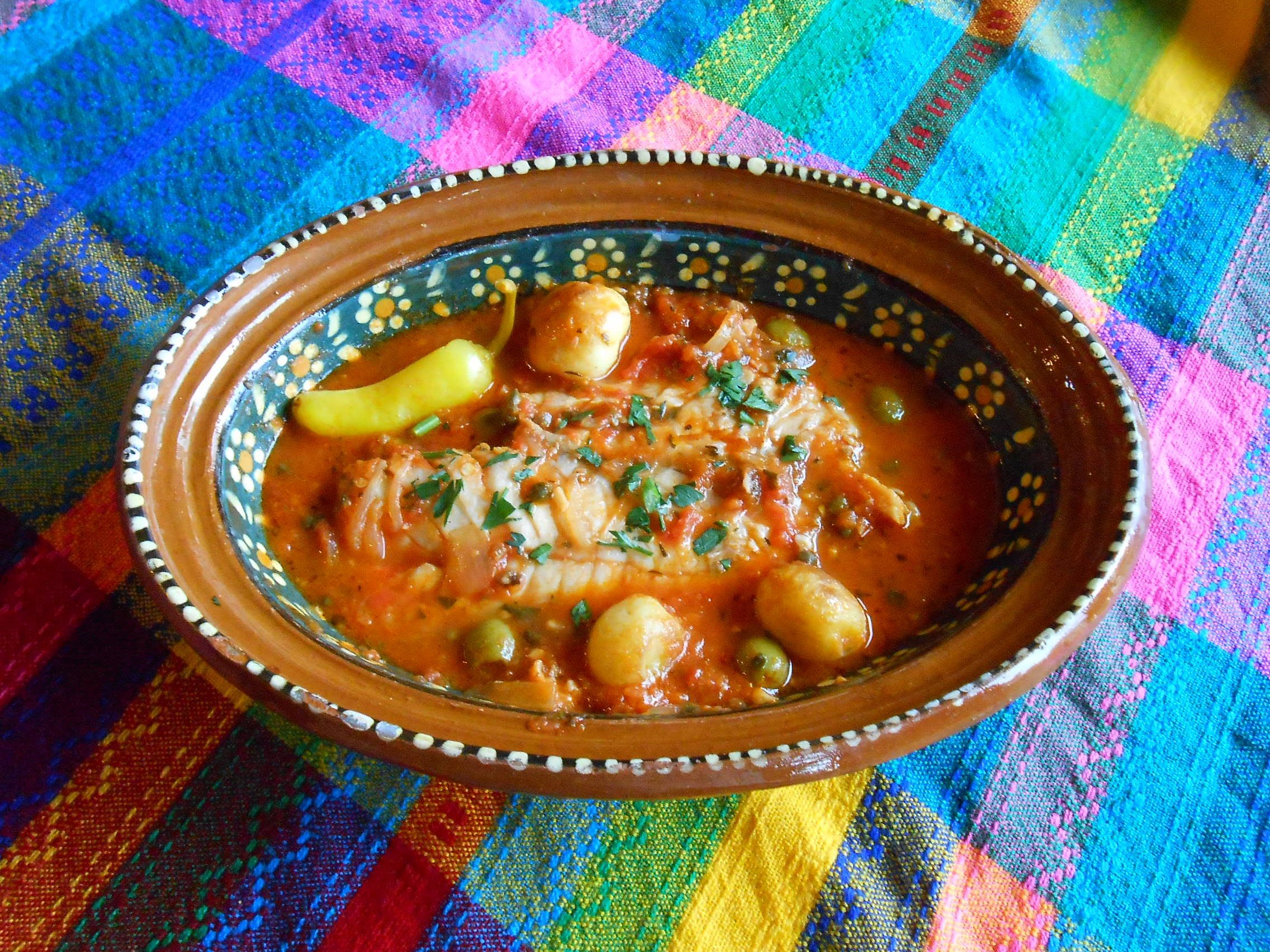 Pescado a la Veracruzana Jauja Cocina Mexicana comparte