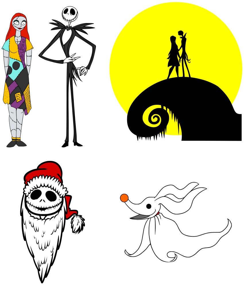 Download Krafty Nook Nightmare before Christmas SVG | disney svg ...