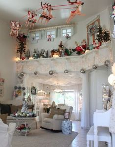 seriously need to make one of these flying sleigh decorations how awesome is that the wilcock family annual very kerri christmas also madness agree and have been inspired by it rh pinterest