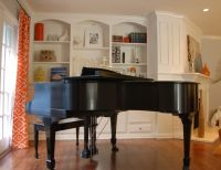 beautiful family rooms with baby grand pianos | Piano ...