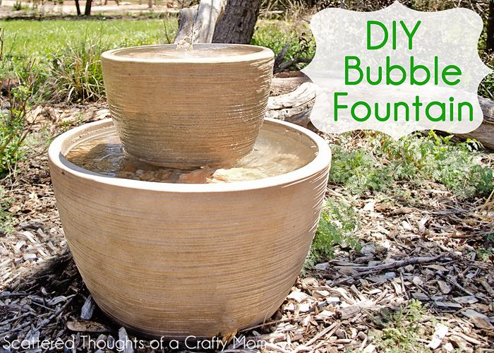 Water Fountain Fun Idea Box By FunkyJunk Interiors Donna Ready