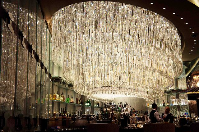 The Chandelier Bar At Cosmopolitan Hotel Las Vegas