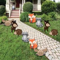 Woodland Creatures - Forest Animal Lawn Decorations ...