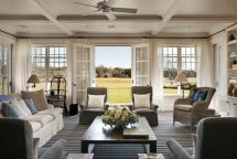 Hamptons Beach Home Interior
