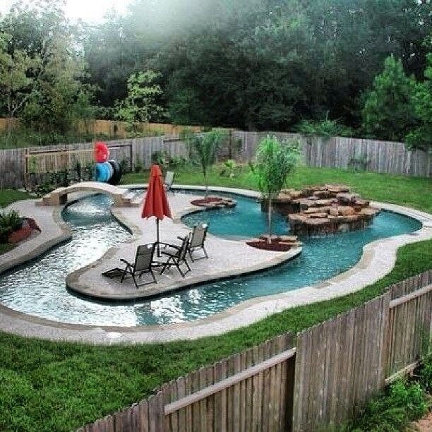 Homes with Lazy River Pools