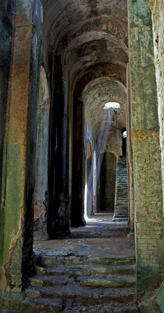 Piscina Mirabilis  Bacoli  Napoli  Campania  Italy  to discover  Pinterest  Italy and Italia