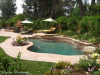 landscaping around pools | Landscaping Northridge - Larsen ...