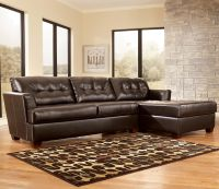 Dixon DuraBlend - Chocolate Sectional Sofa by Signature ...