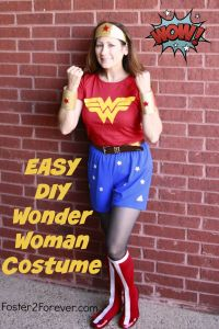 How to Make a Wonder Woman Costume + 88 Other DIY Costumes ...
