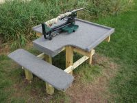 shooting benches for sale | Shooting Table Plans | guns ...