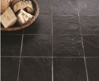 slate type floor tiles in dark brown - Google Search ...