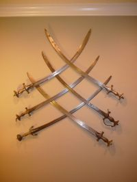 Best way to hang a sword on the wall -- myArmoury.com ...