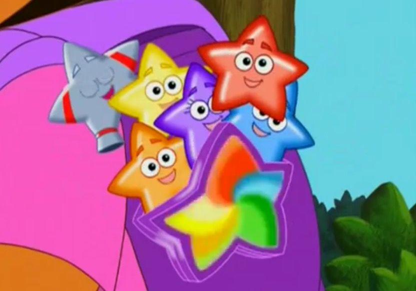 Dora Explorer Star Mountain Map