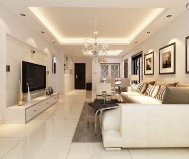 false ceiling design small apartment | room interior, flat screen