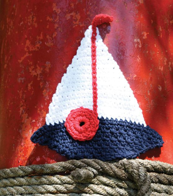 diagram crochet coaster multiple outlet wiring best 25+ nautical ideas on pinterest | anchor applique, and ...