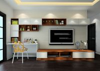 desk and tv stand combo - Google Search  | Pinteres