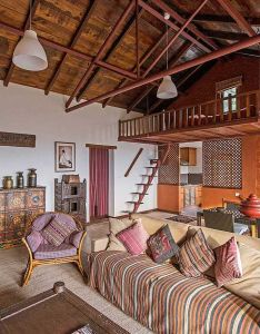 Room also chandra ban eco retreat offers five cosy apartment lofts filled with rh in pinterest