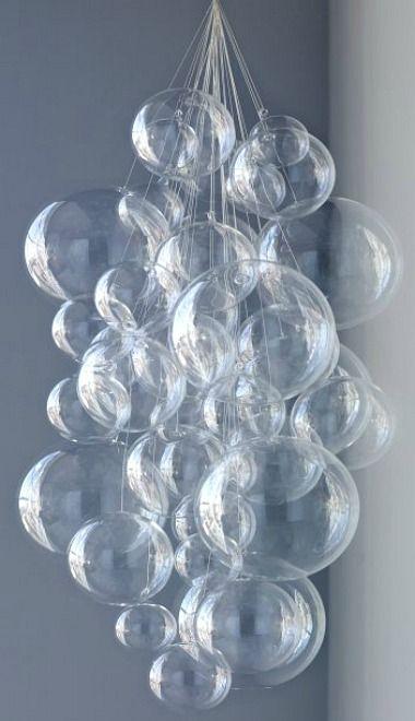 Bubble Chandelier Bubbles Chandeliers And Mermaid