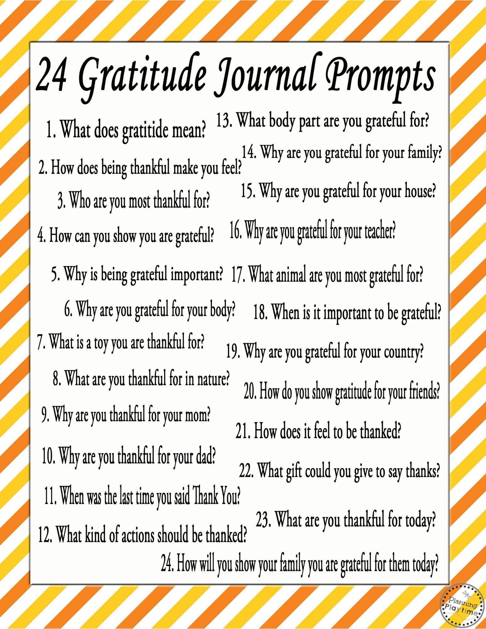 Diy Chalkboard Gratitude Journals For November