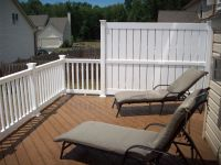 Privacy Screen for Deck Railing | patio | Pinterest ...