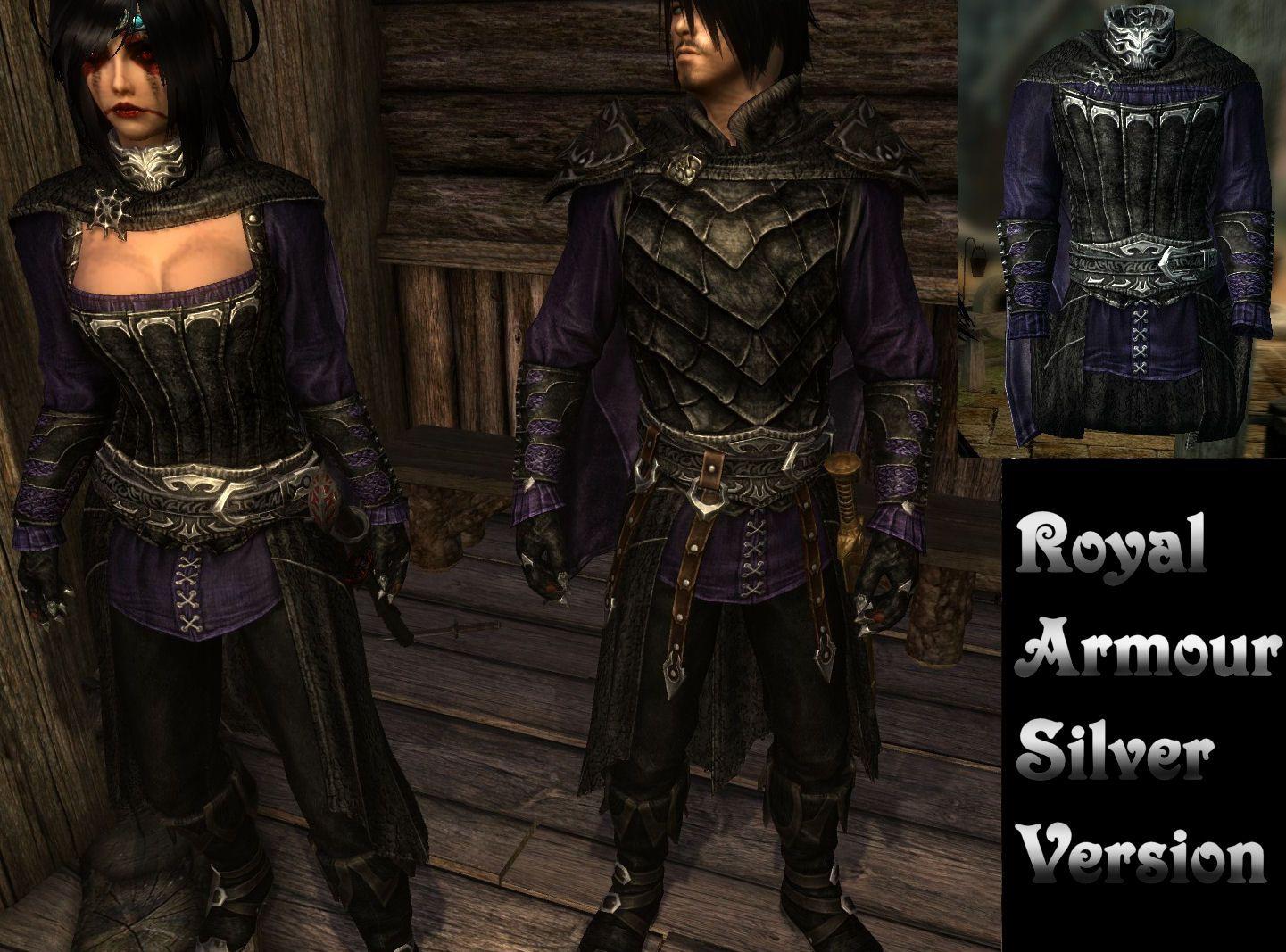 Skyrim Royal Vampire Armor Hood
