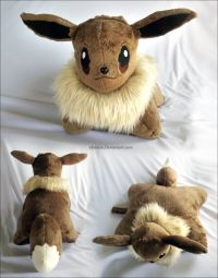 Eevee Pillow Pal by *xSystem on deviantART | Pokemon Craft ...