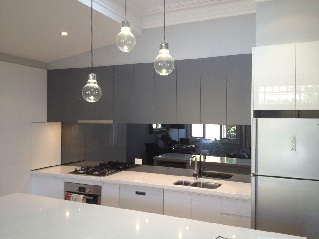 modern splashbacks kitchens  Google Search  Kitchen