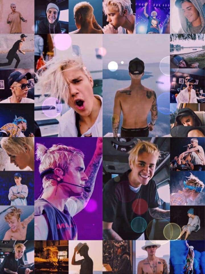 Justin Bieber Purpose Collage
