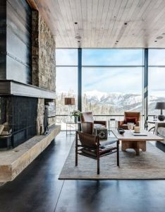Rustic living room by pearson design group also industrial cozy chic rh pinterest