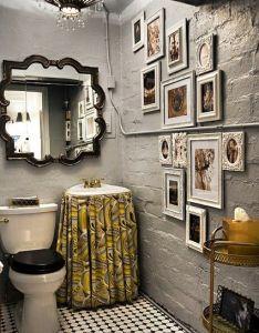 Bath also picture wall arrangement debbie pinterest pedestal sink sinks rh