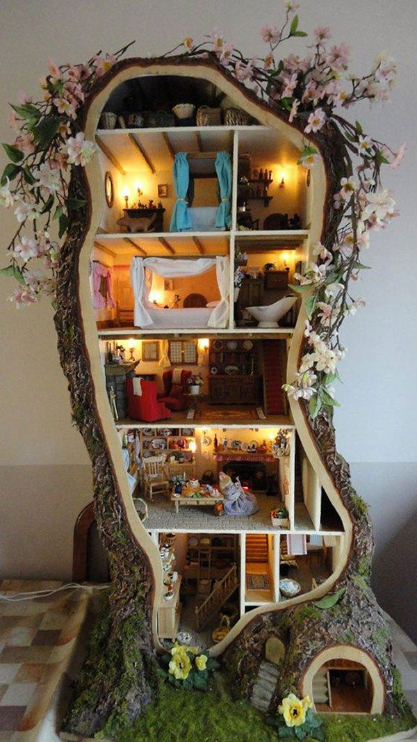 12 Darling DIY Dollhouses Dollhouses Diy Dollhouse And LPs