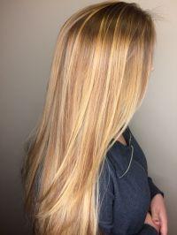 Honey Blonde / Golden Blonde / Long Hair / Balayage ...