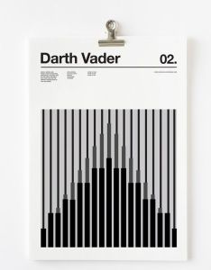 Business cards also darth vader character print graphic design pinterest rh