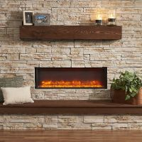 GreatCo 44-In Linear Built-In Electric Fireplace - GBL-44 ...