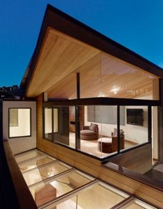 House also glass wood sky places  would live pinterest architecture rh za