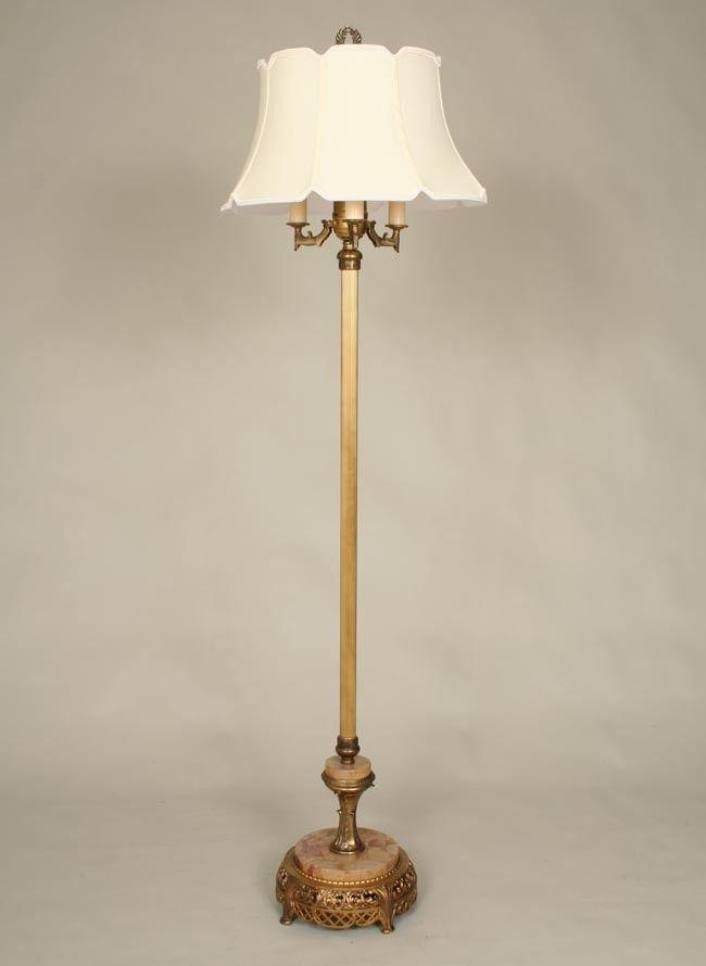 1930's 1940's floor lamp