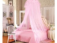 Bedroom, All Pink Princess Canopy Bed: Sleeping Like A ...