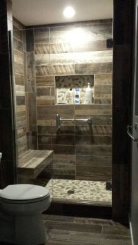 Kennewick, WA Bathroom Remodel Custom walk-in shower with ...