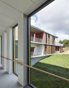 Gallery of concoret housing for the elderly nomade architects also rh pinterest