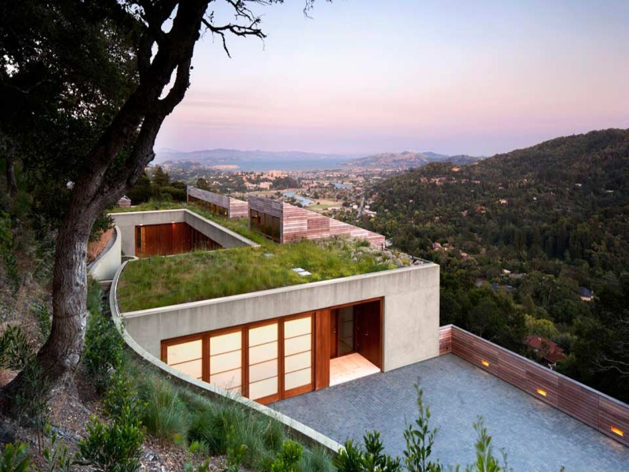 Steep Slope Home Designs Very Steep Hillside House Plans Modern
