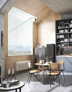 Homedesigning   via chic  sophisticated lofts kitchen   also rh za pinterest