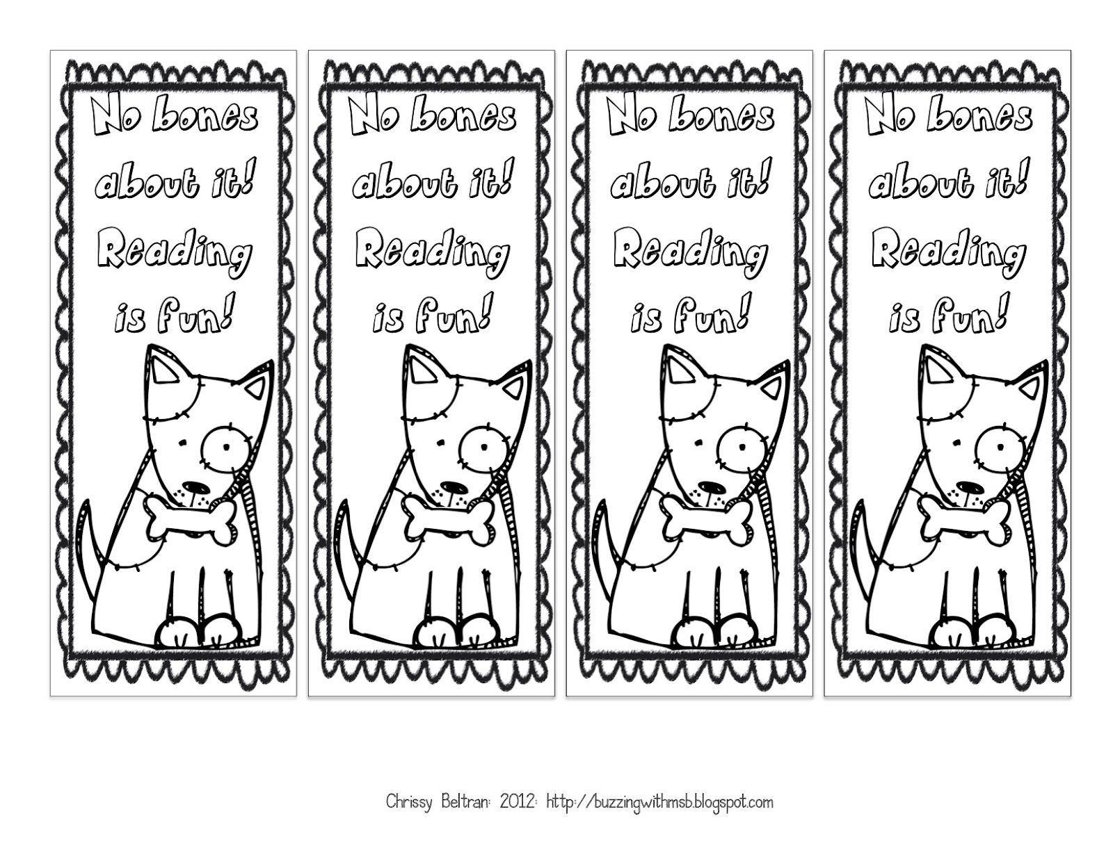 Printable Fall Bookmarks To Color