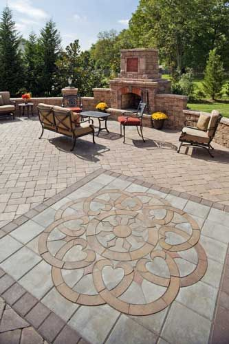 Paver Patio Designs And Ideas Designs Backyard Patio Designs