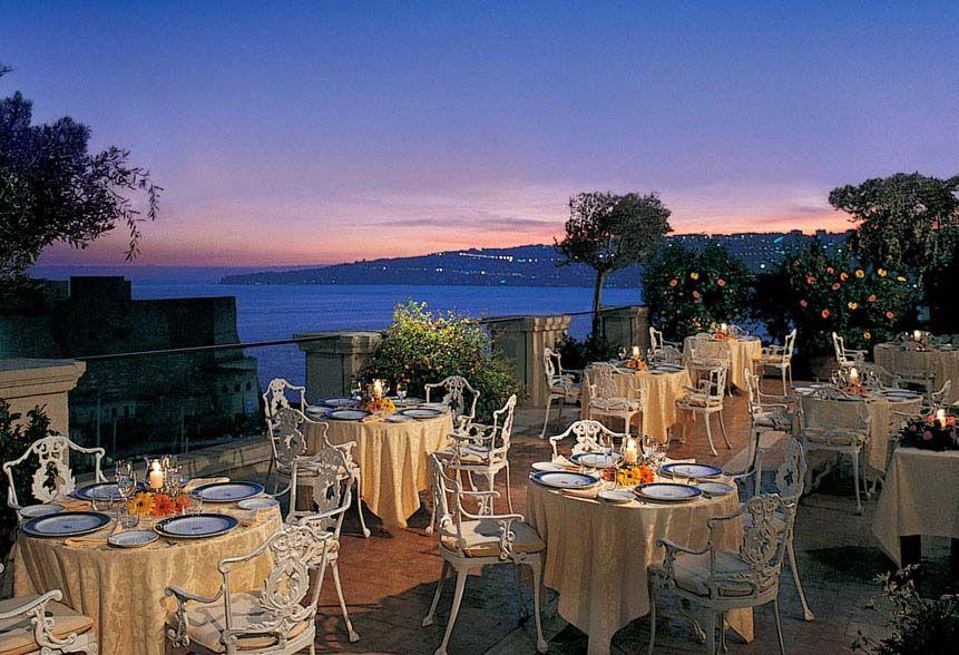 Napoli Ristorante La Terrazza  Hotel Excelsior