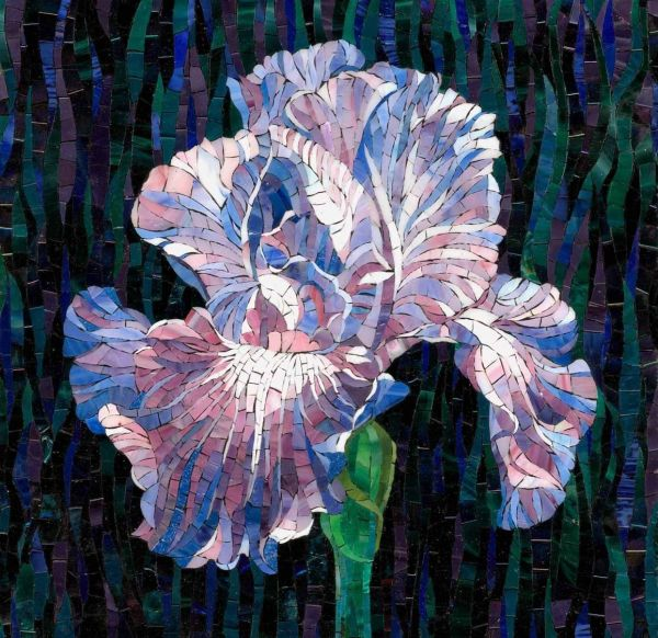 Mosaic Flower Mosaics