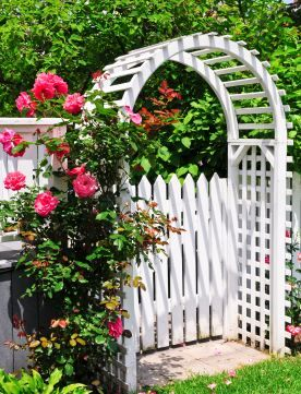Elegant Stylish And Stunning Design Ideas For Wooden Fence Gates