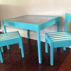 Ikea Kids Table And Chairs Baby Papasan Chair Latt Hack All Parts Spray Painted Before